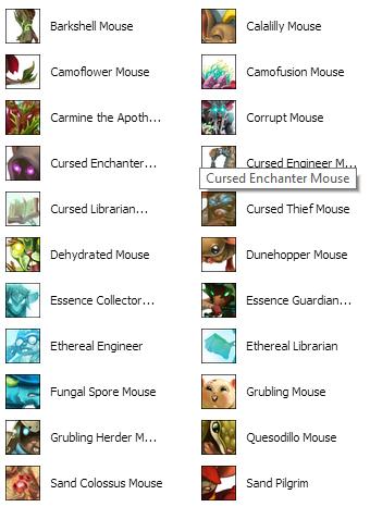 Living Garden TM List P1