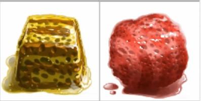 Yellow&Red Sponge