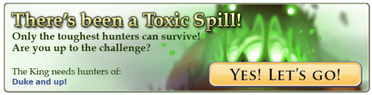 Toxic Spill travel