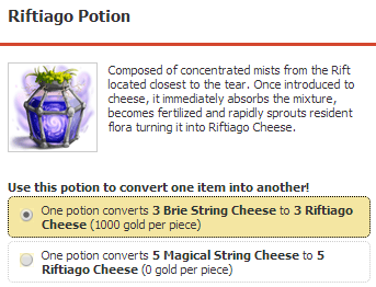riftiago potion