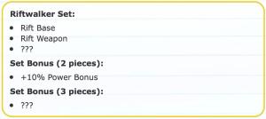 set bonus